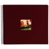 goldbuch Spiralalbum Bella Vista bordeaux gross