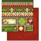 URSUS� Scrapbooking Papier Happy Christmas 218