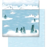 URSUS� Scrapbooking Papier Winter 62